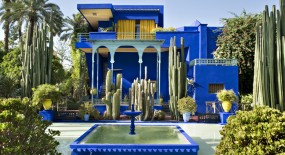 Majorelletuin in Marrakech