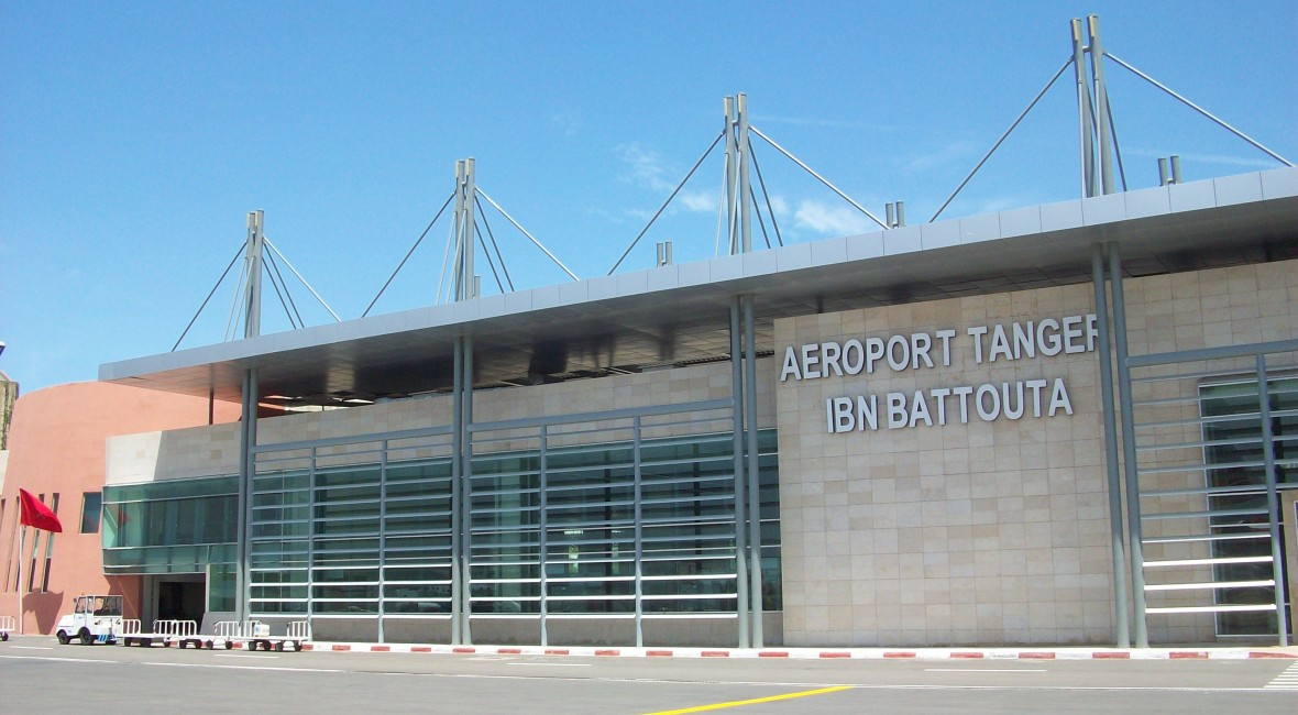 Ibn Battouta, internationale luchthaven