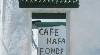 Café Hafa in Tanger
